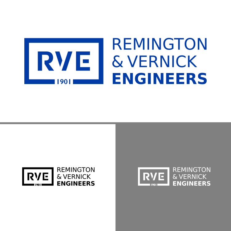 Remington & Vernick Logo variations